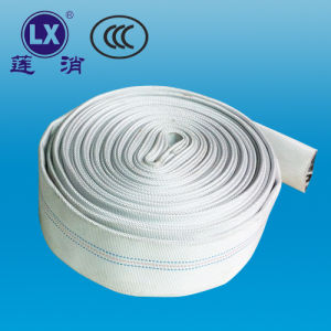 "PVC Lay Flat Fire Hose Flexible Hose Pipe 6"" Rubber Hose Fire Fighting Equipment pictures & photos"