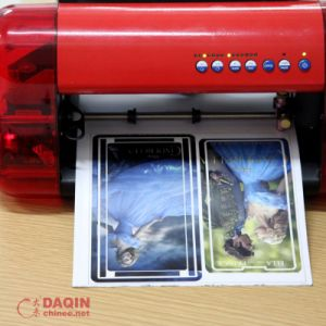 Cell Phone Sticker Making Machine with Phone Templates Software pictures & photos