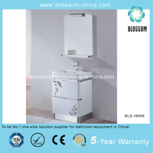Household Floor Mounted China PVC Bathroom Vanity, Cabinet (BLS-16099) pictures & photos