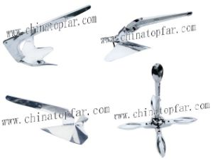 China Stainless Steel Boat and Yacht Hardware: AISI316 Anchor, Chain on