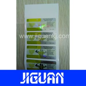 High Demand Pharmaceutical 10ml Holographic Label Hologram Vial Label pictures & photos