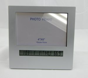Digital Table Clock with Photo Frame and Temperature pictures & photos