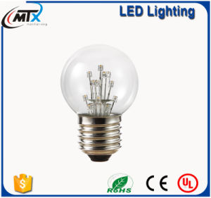 European Style Decorative Colorful LED Edison Fancy String Light Bulb