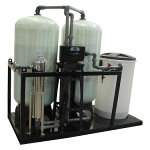 Salt-Based Ion Exchange Softener with Dual Tanks and Dual Valve pictures & photos