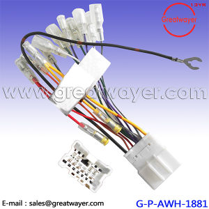 toyota lexus gtcs 10 pin stereo audio wiring harness plug cable