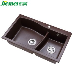 Ceramic Bathroom Vanity Top Sink/ Composite Stone Quartz Kitchen Sink