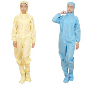 Clearoom Anti-Static ESD Coverall with Cap Shoes pictures & photos