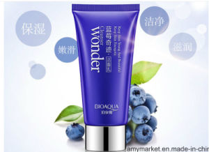 Bioaqua Wonder Blueberry Essence Mild Natural Face Cleaning Cream Facial Cleanser
