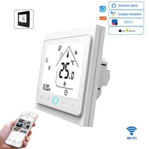 Gas Boiler Electric Floor Heating Wifi Smart Thermostat Control For Water
