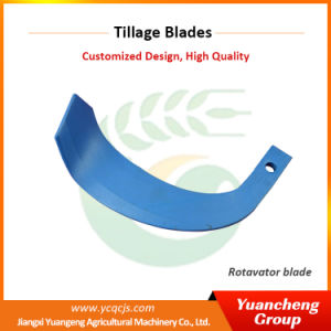 Available Jiangxi Tractor Parts Machinery Machine Tiller Blade