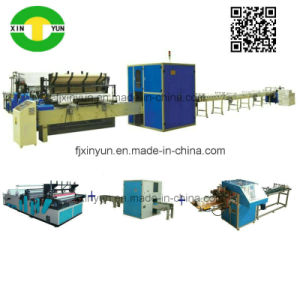 Automatic Small Toilet Roll Paper Making Machine Production Line Price pictures & photos