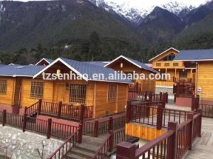 China Hurricane Proof Prefab Houses/Prefabricated Wooden