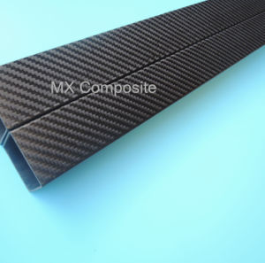 Square 3k Carbon Fiber Tube with High Strength and Quality pictures & photos