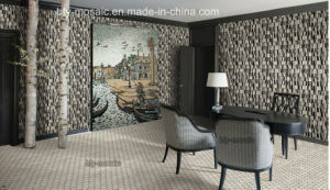 Special Design Marble Mosaic in Floor Tile (FYHF021)