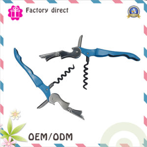 Top Quality Hot Sale Promotional Wine Metal Bottle Opener Corkscrew pictures & photos