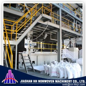 China Zhejiang Best 3.2m Double S PP Spunbond Nonwoven Fabric Machine pictures & photos