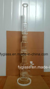 32inch Detached Pipe Shape Glass Smoking Water Pipe-Fya862 pictures & photos