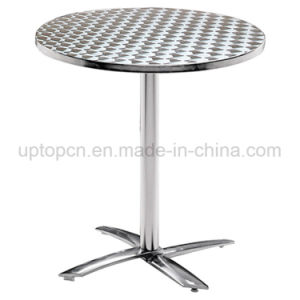 Outdoor Square Stainless Steel Table for Food Court (SP-AT360) pictures & photos