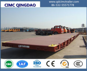 Cimc Port Terminal 20FT/40FT/62FT Maft Trailer Truck Chassis pictures & photos