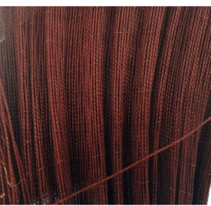 B Grade Polyester Tyre Cord Fabric 1000d/2 Red Color pictures & photos