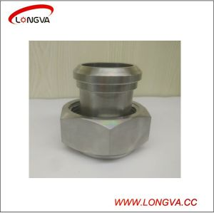 Sanitary Stainless Steel Adapter with Hexagonal Nut pictures & photos