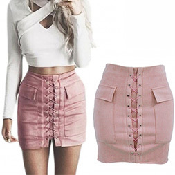 Fashion Women Sexy Slim Pocket Bandage Skirt pictures & photos