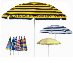 Durable Windproof Vacation Beach Umbrella pictures & photos