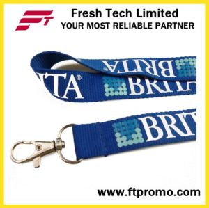 High Quality Cheap Polyester Lanyard with Logo Design pictures & photos