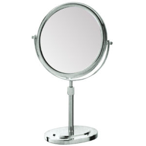 Hotel Desktop Height Adjustable Cosmetic Metal Magnifying Mirror pictures & photos