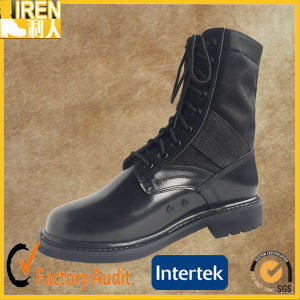 Full Grain Cow Leather Military Army Jungle Boots pictures & photos