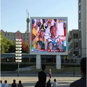 Outdoor Advertising P6 Full Color LED Display Cabinet for LED