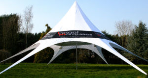Customized High Peak Star Shade Tent for Sale pictures & photos