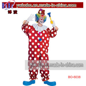 Circus Clown Jester Fancy Dress Costume Party Products (BO-6038) pictures & photos