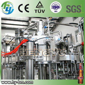SGS Full Automatic Glass Bottle Carbonated Beverage Filling Machine for Beer pictures & photos