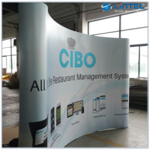 Portable Exhibition Banners : China portable pop up exhibition stand pvc popup display banner