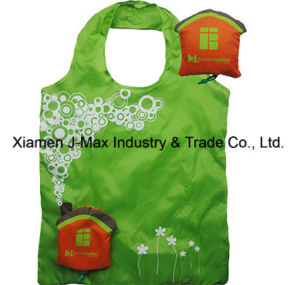 Foldable Shopper Bag, Promotion Bags, House Style, Reusable, Lightweight, Grocery Bags and Handy, Gifts, Promotion, Tote Bag, Decoration & Accessories pictures & photos