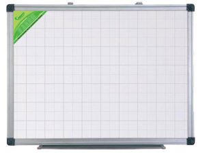 Single Side Ldf Magnetic Whiteboard with Aluminum Frame with Pen Tray