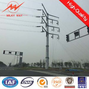 Electricity Polygon Transmission Line Pole pictures & photos