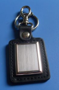 Hot Promotional Leather Metal Key Ring