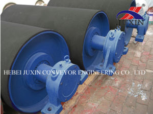 Conveyor Tail Pulley with Rubber Lagging pictures & photos
