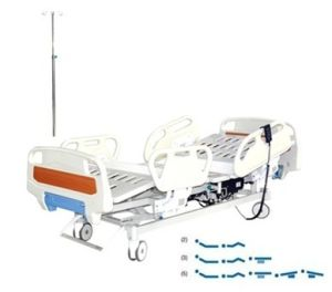 ICU Bed with Back-Rest Lifting, Leg-Rest Lifting, Height Adjustment pictures & photos