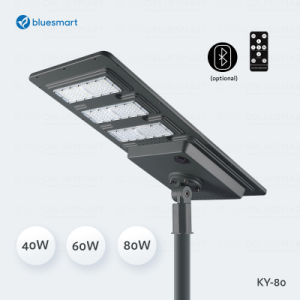 40-80W Integrated All-in-One Outdoor Solar LED Street Garden Light