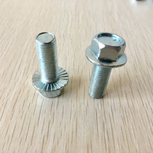 M6 Titanium Bolts 12 Point Flange Bolt Sizes