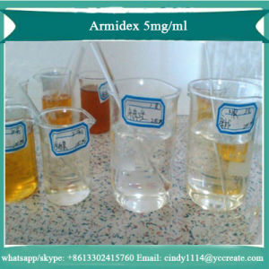 Oral Semi-Finished Steroid  Oil  Armidex 5mg/Ml for  Anti-Estrogen