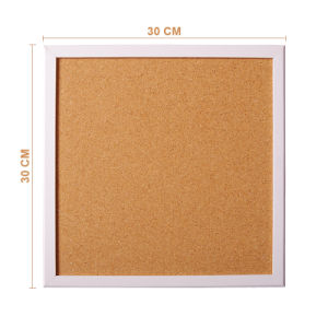 Quality Cork Memo Bulletin Board