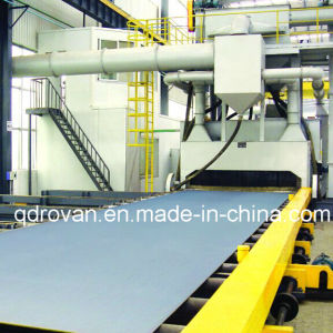 Steel Plate Shot Blast Cleaning Machine