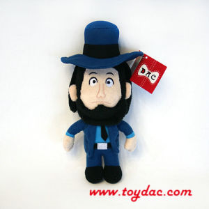 Plush Cartoon Character Doll