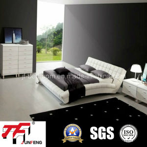 Good Quality Leather Bed J-06