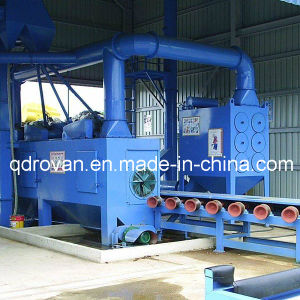Steel Pipe Outer Wall Sand Blast Cleaning Machine