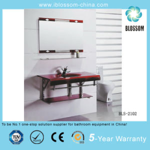 Glass Basin/Glass Washing Basin with Mirror (BLS-2102) pictures & photos